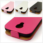 PU Leather Vertical Flip case lot color cover For Samsung GALAXY S4 MINI i9190