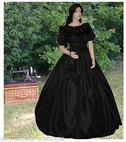 Ladies Victorian American Civil War costume fancy dress - 3PC BL sizes UK 22-32