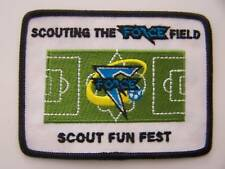 Boy Scouts of America (BSA)/CUB  SCOUTING THE FORCE FIELD / SCOUT FUN FEST Patch