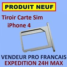 TIROIR METAL ORIGINE APPLE SUPPORT CARTE SIM IPHONE 4 4G NEUF EXPEDITION 24H MAX