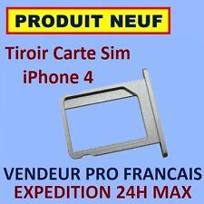 TIROIR METAL ORIGINE APPLE SUPPORT CARTE SIM IPHONE 4 4G NEUF EXPEDITION 24H MAX