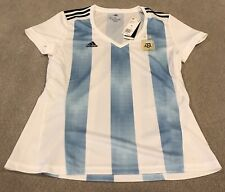 $80 Adidas Argentina AFA Soccer Jersey BQ9302 Women's XL New With Tags