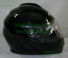 NEW RJays Dominator GLOSSY BLACK ? Medium ? Motorcycle Helmet NICE!!
