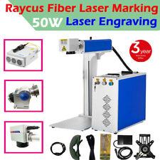 50w Raycus Fiber Laser Marking Laser Engraving Machine Metal And Non Metal Fda