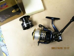 Pflueger Patriarch 9530 Spinning Reel Very Nice  W Box And Paperwork spare spool
