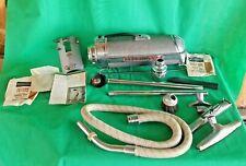 Vintage Art Deco Electrolux Vacuum Cleaner Model XXX w/ EXTRAS / CASE WORKS!
