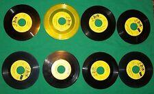 VTG ROLLER SKATE RINK RINX WURLITZER ORGAN SKATING MUSIC 45 RECORD BOOGIE WOOGIE