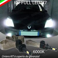 kIT FULL LED RENAULT MEGANE SCENIC MK2 LAMPADE H7 6000K XENON BIANCO NO AVARIA