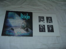 BRIDE Silence Is Madness '89 LP ORIG US press Christian power metal exc/NMint