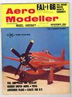 AEROMODELLER  Magazine November 1966 BOXCAR FF sport fullsize pullout plans