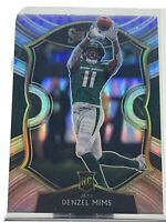 2020 Panini Select DENZEL MIMS Rookie RC Concourse Silver Prizm JETS⚡️🏈⚡️