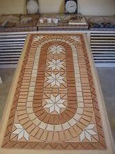 Rosace/Mosaique en carrelage  60x121cm