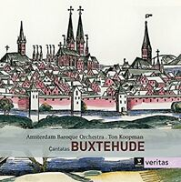 Ton Koopman Amsterdam Baroque Orchestra - Buxtehude Cantatas [CD]