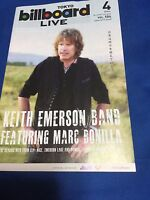 Keith Emerson cancelled Japan tour Info book 2016 Apr Emerson Lake&Plamer