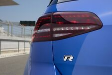 Genuine VW Golf 7 MK7 LED Tail Lamps Lights Tinted EU Golf R Version. +Harness