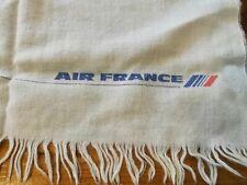 Vintage Air France, 100% Pure Wool, Blanket, with original packaging.