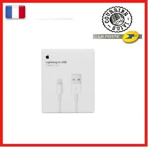 CHARGEUR CABLE APPLE USB ORIGINAL 1M IPhone 5/5C/5S/6/6S/7/8/X/12 4+1 Offert 😋