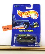 Hot Wheels Ford Aerostar BP236 Black Rollerblade    B4