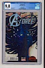 Marvel's A-Force #1 Stephanie Hans Variant CGC 9.8