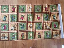 Benartex Nancy Halvorsen Christmas Favorites Cotton Quilt Fabric Panel