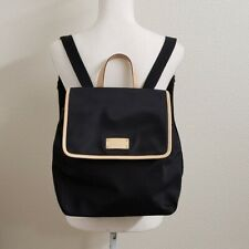 Kate Spade Black Kennedy Park Neko Backpack Bag handbag