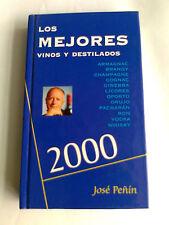 LOTE 10 libros los mejores vinos y destilados 2000 peñin,jose-ediciones pi&erre