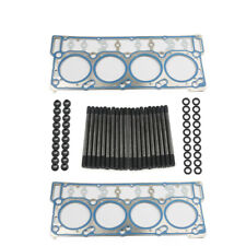 Diesel Engine Cylinder Head Studs Kit Head Washer 18mm Dowels Fit For Ford 6.0L