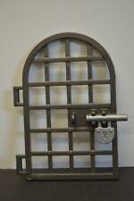 Playmobil 5139 Door Grill Arched Top Black padlock 4294 4865 4866 5245 6000 6001