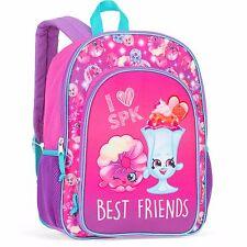 """I Love SPK Shopkins 16"""" Backpack School Book Bag Tote Rucksack"""