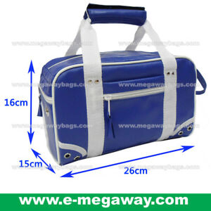 Royal Blue Mini Tote Bags Amenity Classic Shower Travel Pouch Trip MegawayBags