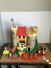 Vintage 1974 Fisher Price Play Family Castle 993 Complete