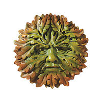 "The Somerset Greenman Design Toscano 8½"" Hand Painted Wall Sculpture"