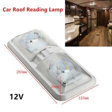 12V Truck Ceiling 48LED Light Roof Reading Lamp Camper RV Boat Indoor Lighting