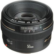 Canon EF 50mm f/1.4 USM Lente/ Objetivo con Garantía