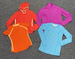 Nike Dri Fit Short Sleeve T Shirt & Zip Up Hoodie Womens Size Large Lot Of 4!!