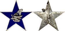 12° B.C.A,Etoile Eclaireur Skieur, émail, dos guilloché,matriculé, Drago (0535)