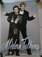 Modern Talking-Poster Portrait 90er (59,5 x 63,5 cm) encore dans la diapositive!!!