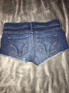 womens hollister shorts size 5