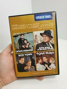TCM Greatest Classic Legends: Spencer Tracy DVD 4-Disc Set, 2012 Free Ship