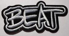 🎶 BEAT 🎶 Aufbügler / Aufnäher iron-on patch Musik SKA 2-Tone Cartoon Bügelbild