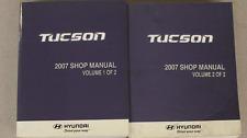2007 Hyundai Tucson Service Repair Shop Workshop Manual SET FACTORY NEW