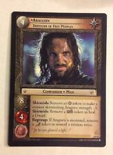 The Lord of the Rings TCG - Aragorn Defender of Free Peoples x 1 LOTR 0P47 CCG