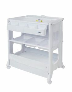 4baby Deluxe Change Centre - White
