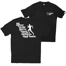 FB Running Tee No Matter How Slow Novelty Birthday Dry Fit Performance T-Shirt