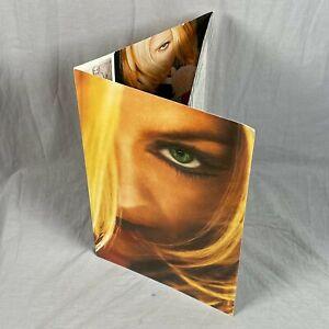 Madonna Greatest Hits Vol 2 Trifold Promo Folder 2001 Ray Of Light Erotica