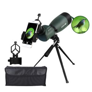 20-75x70 Angled 45 Degrees Spotting Scope  Waterproof Telescope Monocular