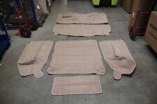 B-Ware Teppich Teppichsatz für Jeep Wrangler YJ Carpet set spice Tan Beige