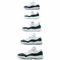 Nike Air Jordan 11 Retro Low Retro XI Navy Blue Snakeskin Men Women Kids Pick 1