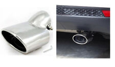 2 silver Exhaust Muffler Tail Pipe Tip Tailpipe for Mazda 3 Sedan 2014-2017 2018