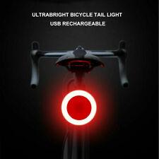 Cyclisme USB LED Rechargeable COB vélo Feu arrière lumière de Lampe éclairage